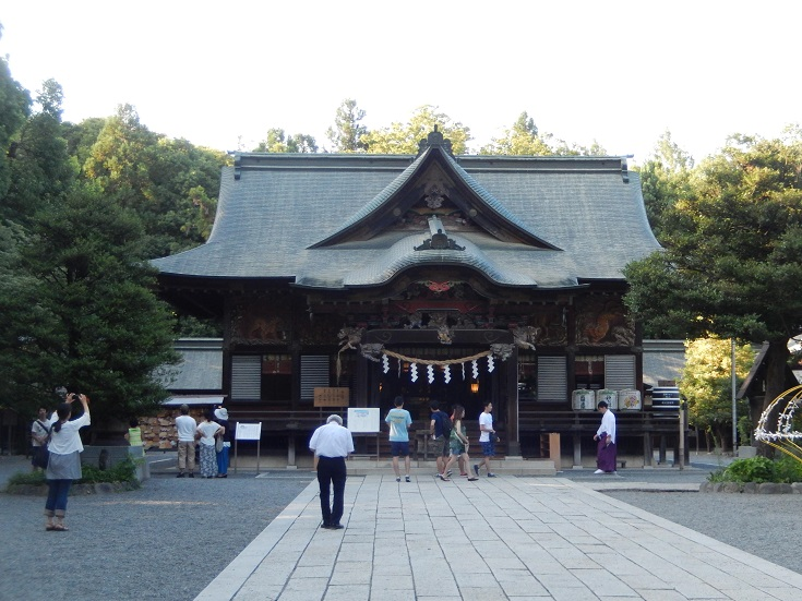 妙見信仰で有名な秩父神社