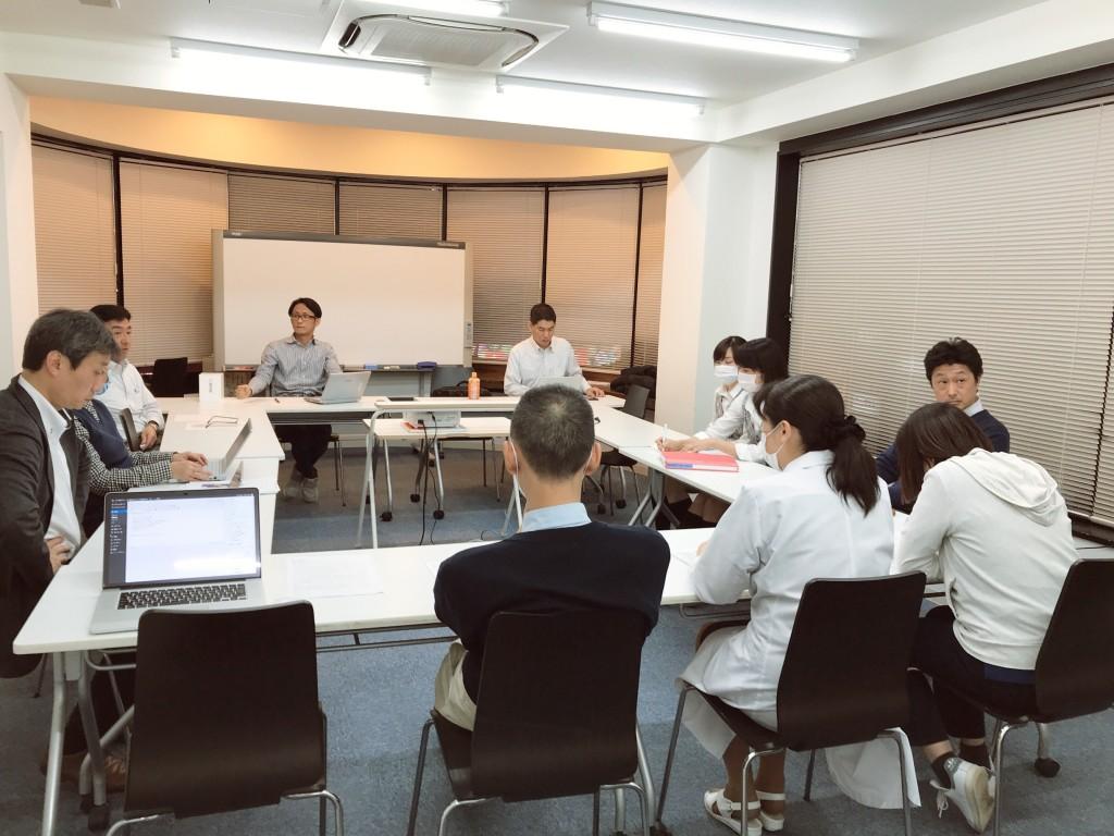 新宿ヒロクリニック衛生委員会風景