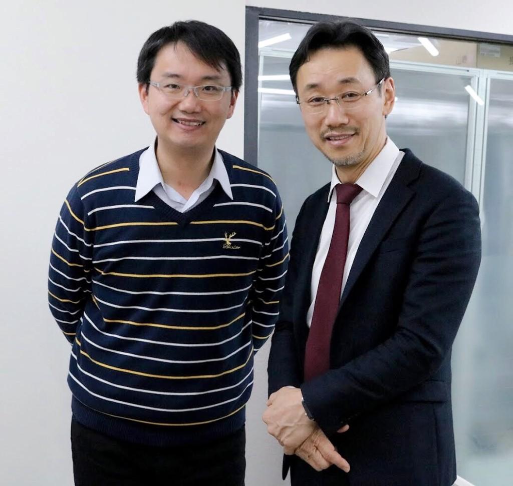 台湾在宅医療学会の先生が研修に来ています